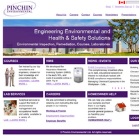 Pinchin Environmental: Engineering Environmental and Health & Safety Solutions